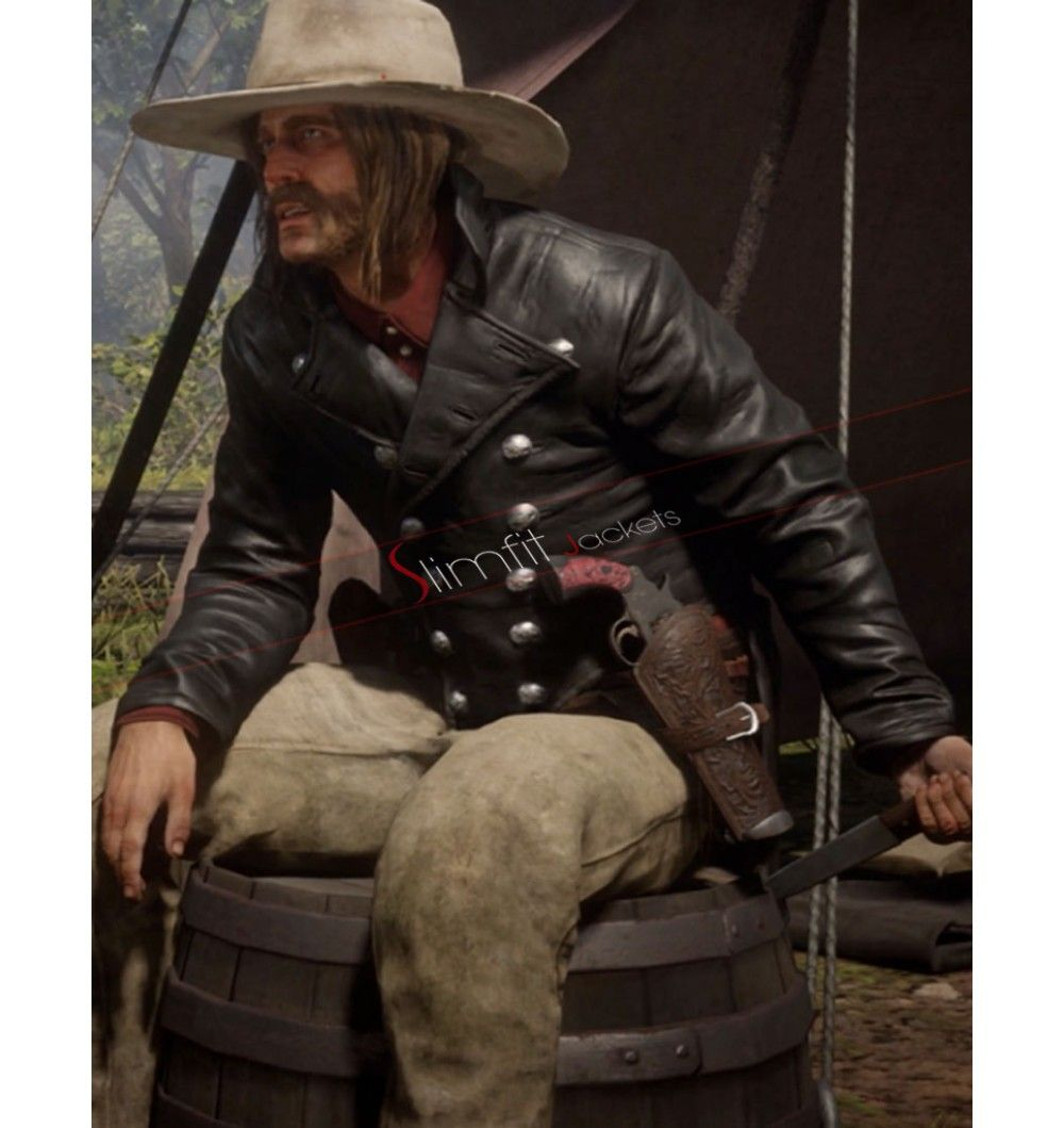 Micah Bell Red Dead Redemption 2 Jacket | Jackets/Coats | Red dead