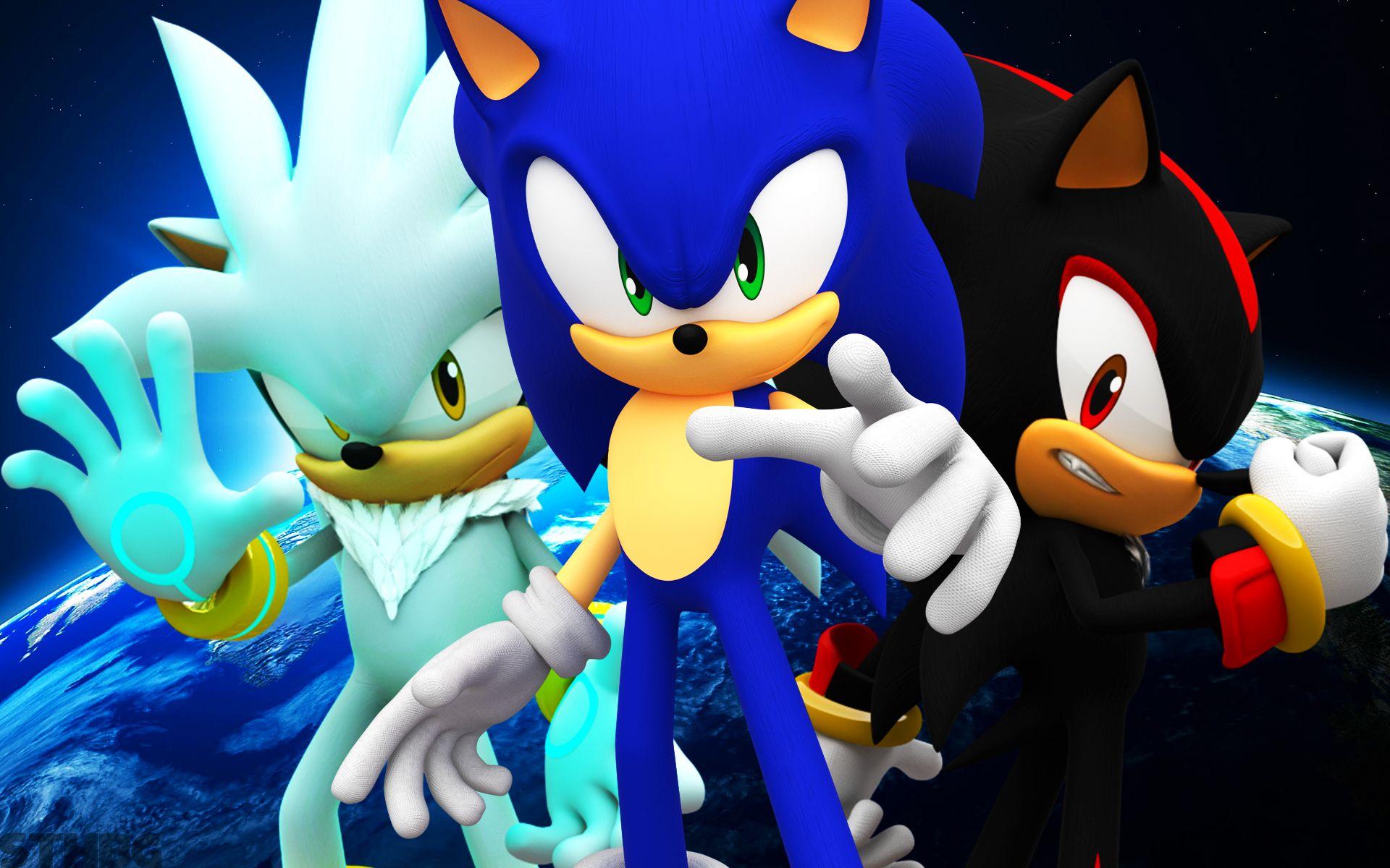 Dark Sonic Wallpapers