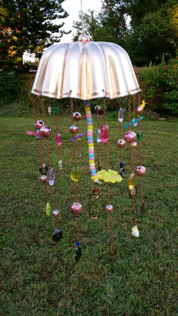 Check out this item in my Etsy shop https://www.etsy.com/listing/210696021/garden-wind-chime