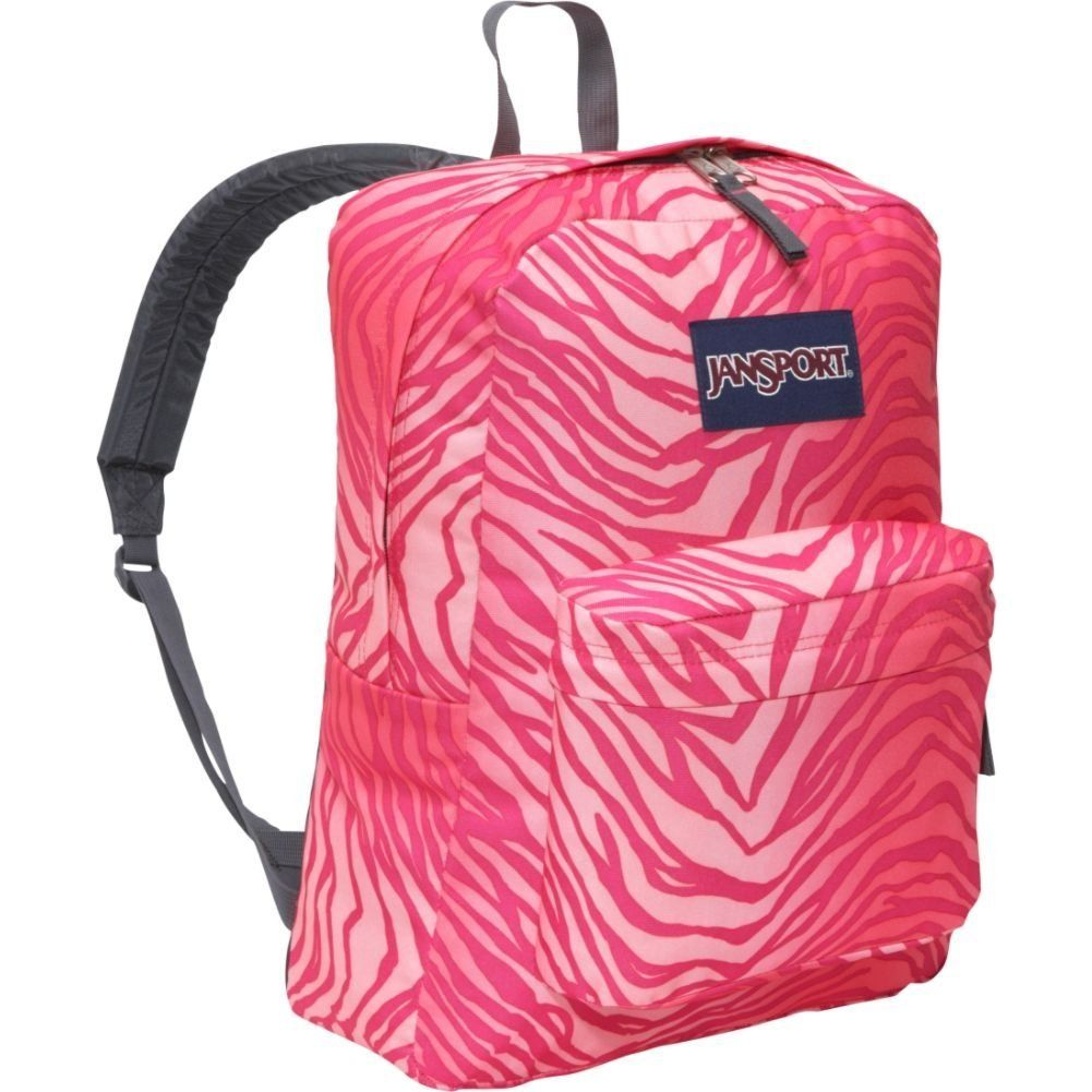 Pink Zebra Jansport Backpack for girls | backpacks ...