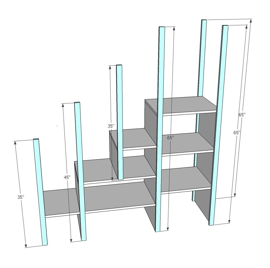 Building Plans For Bunk Beds With Stairs,Plans.Home Plans Picture ...