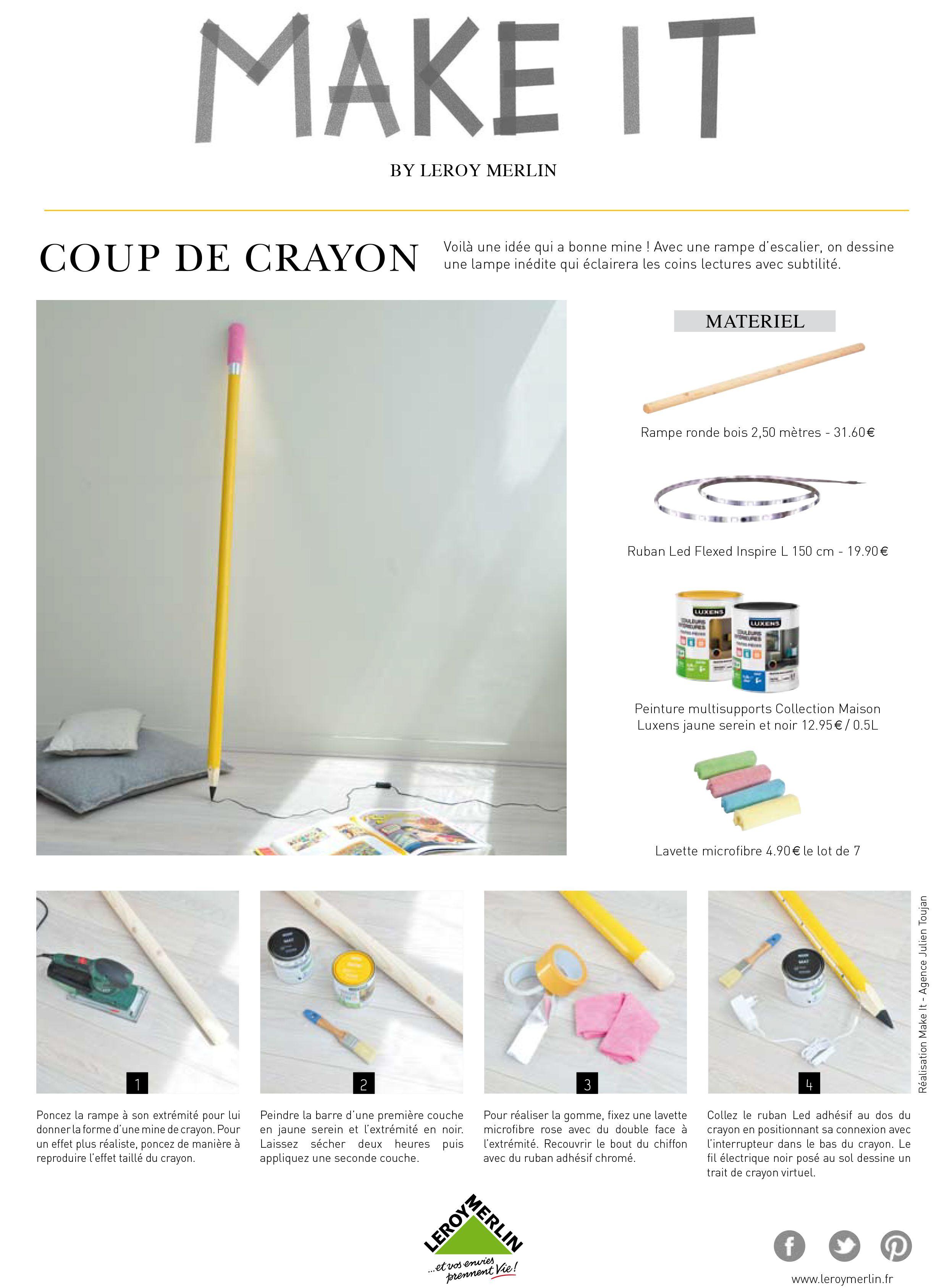 Comment Detourner Une Rampe D Escalier En Lampe Diy Produitdetourne Idee Luminaire Diy Idee Deco