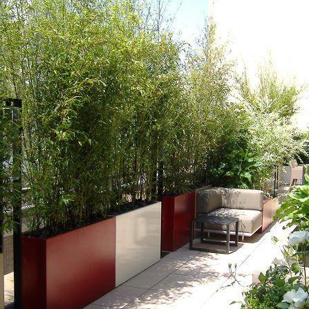 jardiniere bambou
