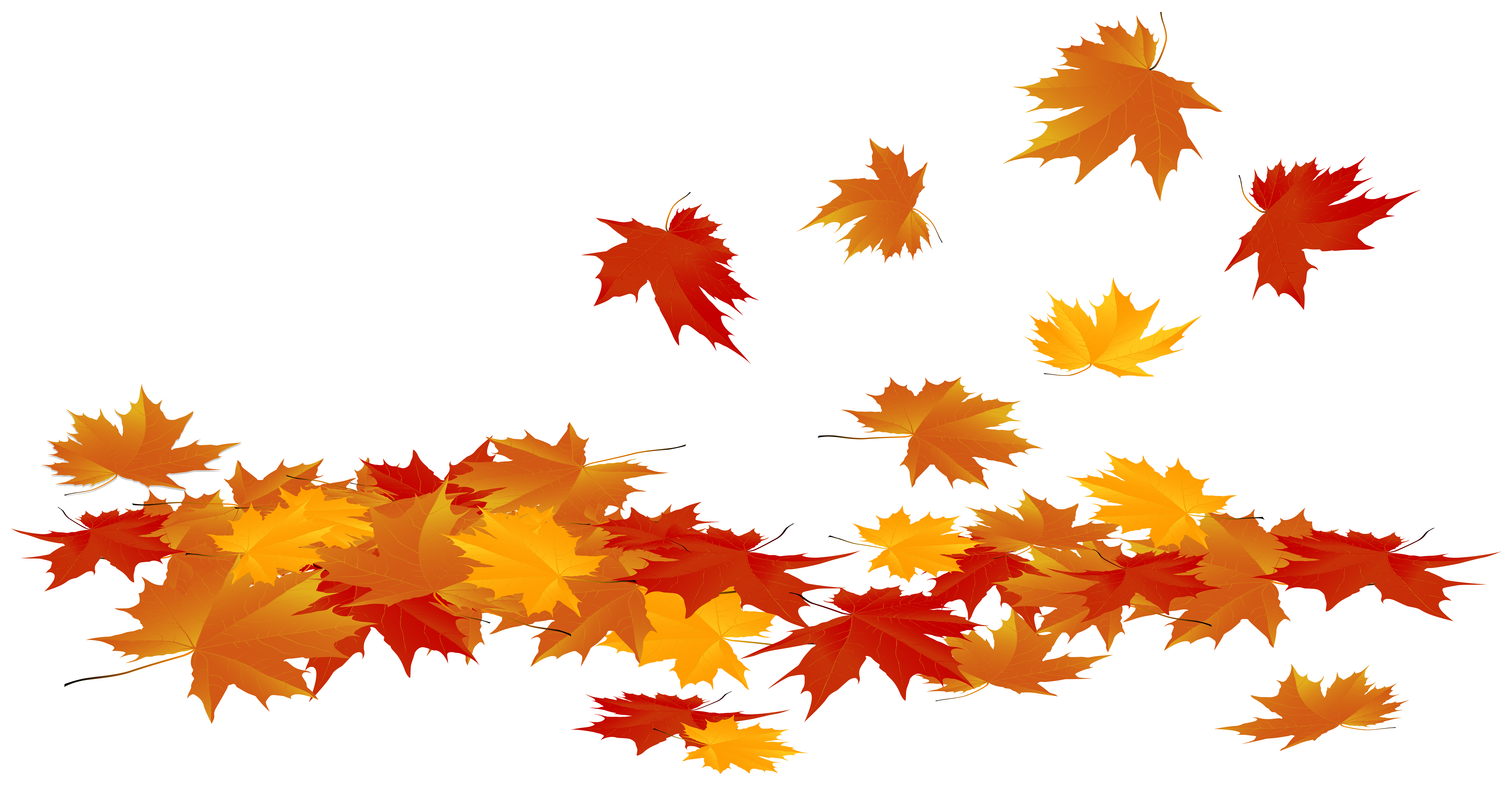 Fallen Autumn Leaves Png Clip Art Image Gallery Yopriceville High Quality Images And Transparent Png Fr Autumn Leaves Wallpaper Art Images Leaf Silhouette