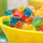 Alcoholic gummy bears.
