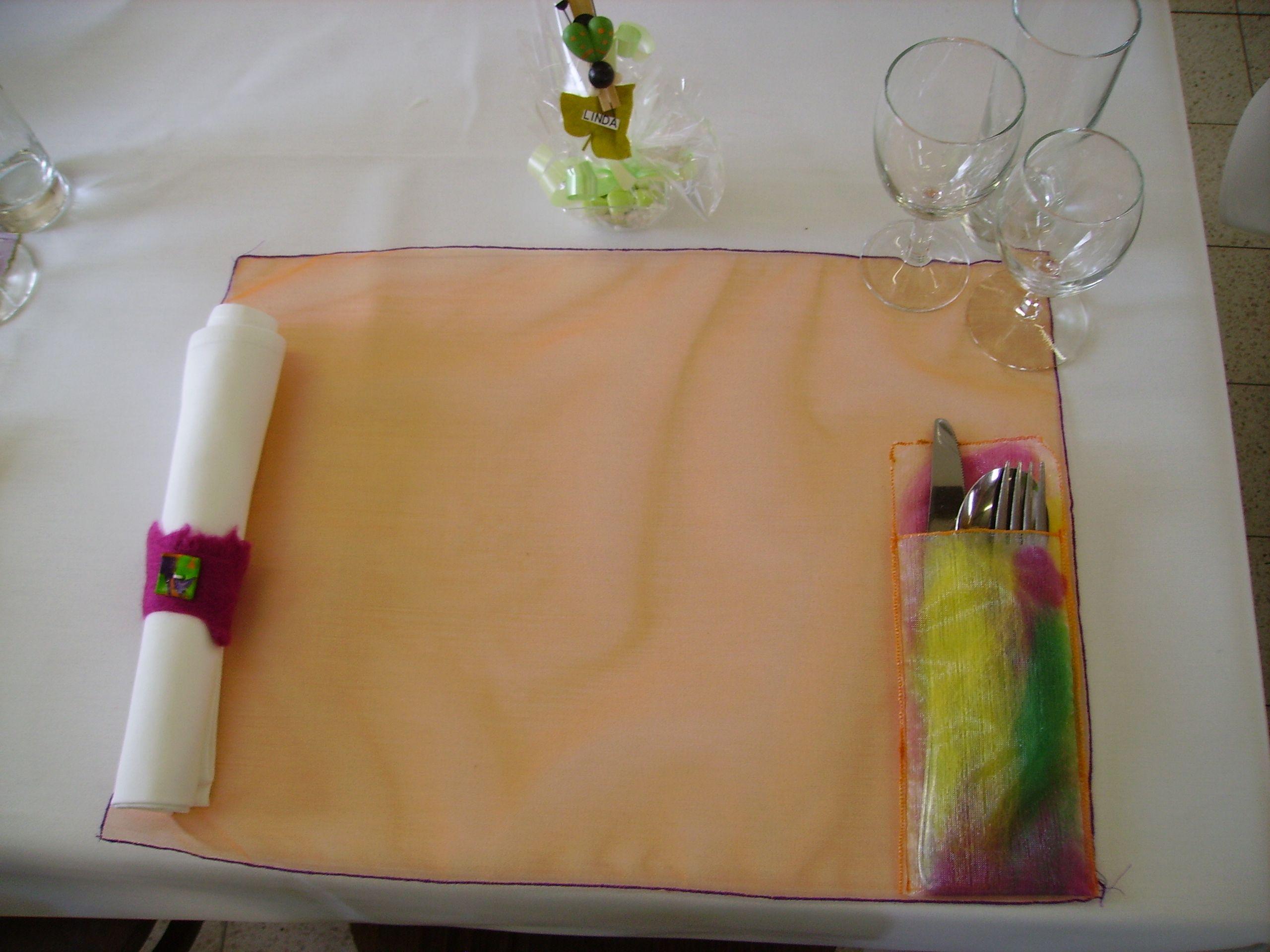 Tafeldecoratie communiefeest Sef 2010