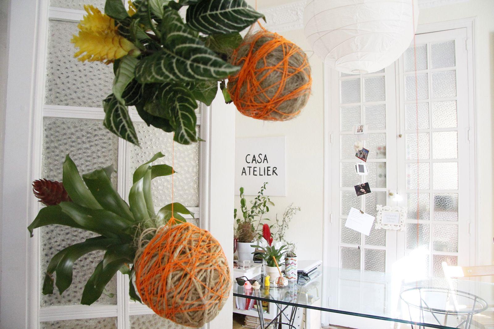 DIY - Arranjo Aéreo by Escandinavo Tropical | Casa-Atelier