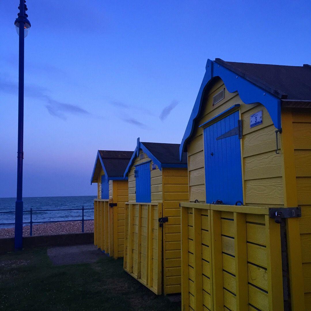 Felpham beach huts.