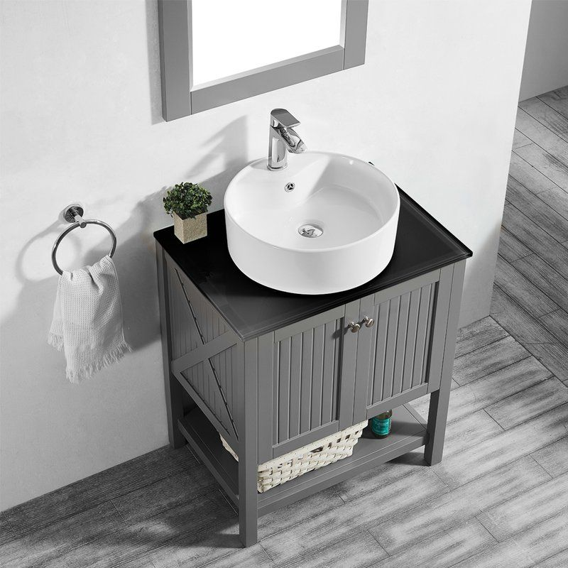 Nadel 28 Single Bathroom Vanity Set Single Bathroom Vanity Vanity Set With Mirror Bathroom Vanity