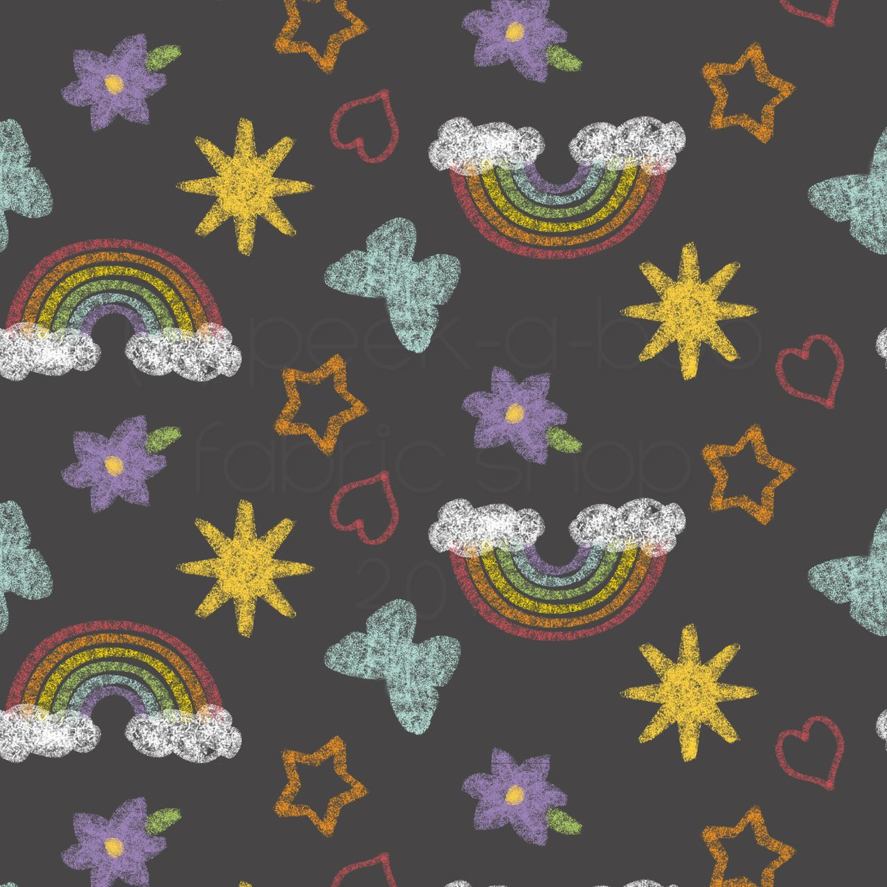 004734a6d07 PAB Chalk Doodles Cotton Lycra - Peek-a-Boo Pattern Shop   Fabric ...