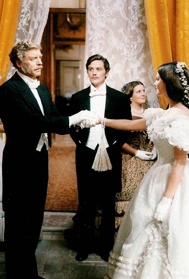 "hollywoodlady: ""Burt Lancaster, Alain Delon and Claudia Cardinale in Il Gattopardo, 1963 """