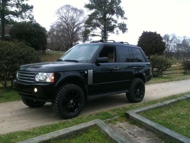 Lifted Range Rover 2011 Lift Kit Raising The Air Suspension