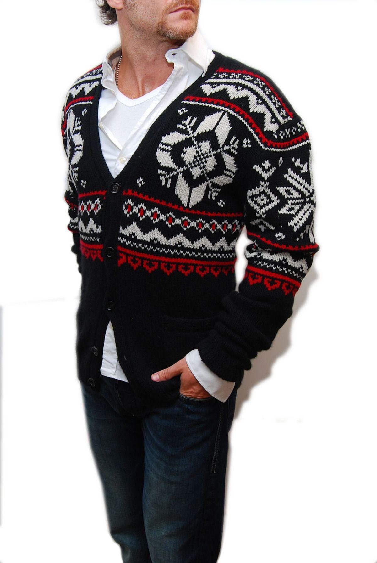 4525d60b8b6 Polo Ralph Lauren Purple Label Mens Sweater Black Cashmere Cardigan Small   1695