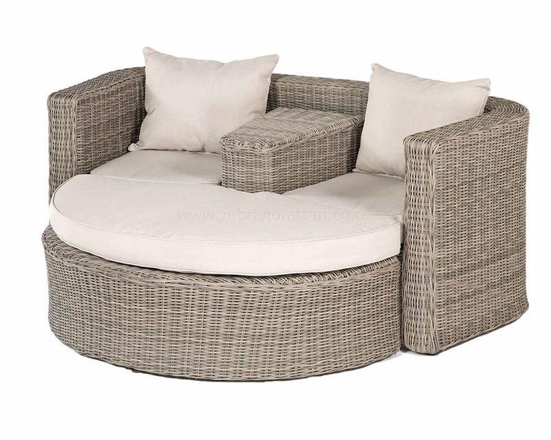 Outdoor Garden Rattan Furniture Hamilton Love Seat