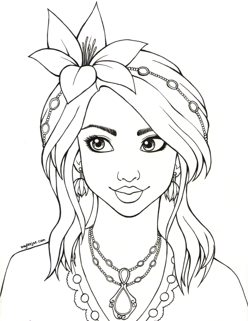 baylee jae coloring pages - photo#23