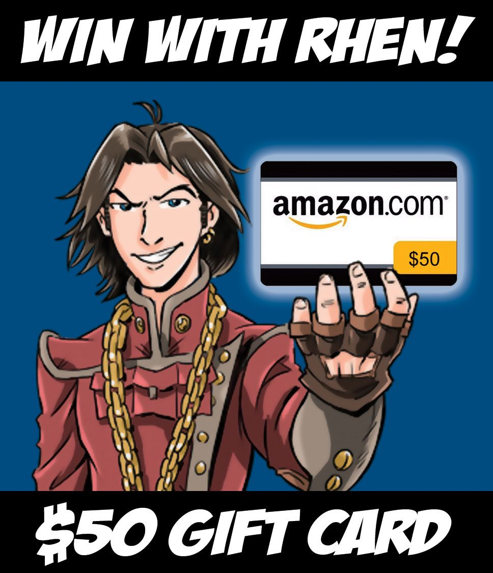 Contest win a 50 amazon gift card ecode from