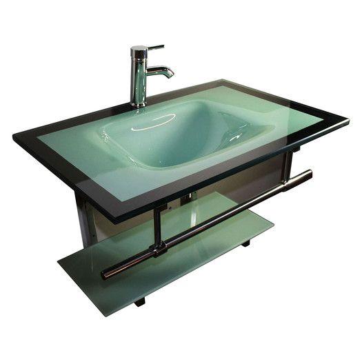 Kokols 31 Single Floating Bathroom Vanity Set Allmodern Ideas