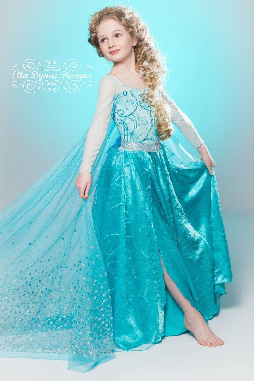 c96c04e309624 Original Ella Dynae Custom Elsa Costume | Frozen | Frozen costume ...