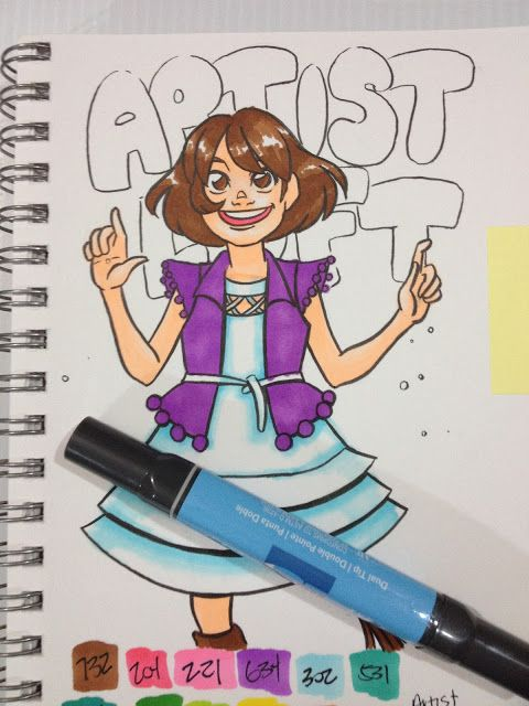 Permanent Sketch Book: Artist Loft Alcohol Marker Review This In Depth Art Supply