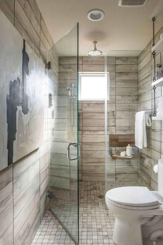 Photo of 55+ Inspiring Farmhouse Bathroom Shower Decor Ideas And Remodel