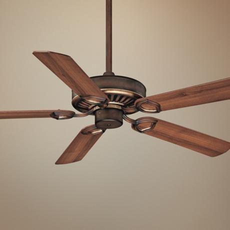 "52"" Minka Aire Ultra-Max Belcaro Walnut Ceiling Fan -"