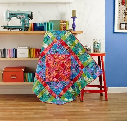 Shop Craftsy's premiere assortment of quilting supplies and save! Get the Rowan Kaffe Fassett Classics Colour Wash Quilt before it sells out. - via @Craftsy