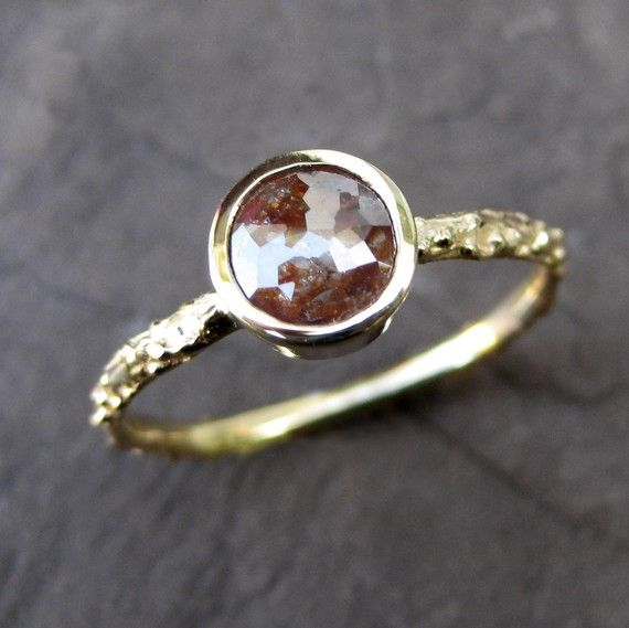 Twig ring - love the stone color #ring #twigring #jewelry
