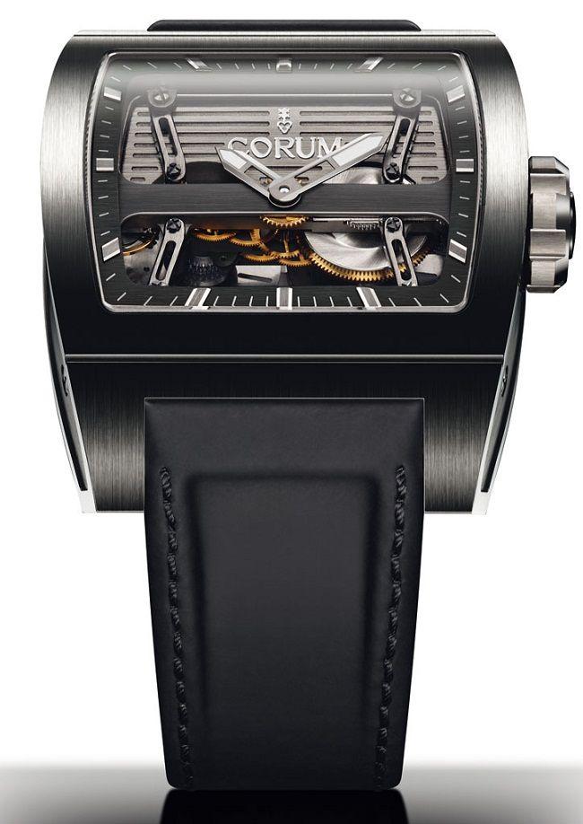 Часы Corum Ti-Bridge Automatic Dual Winder – Уникальный механизм | LuxuriousWatches.ru