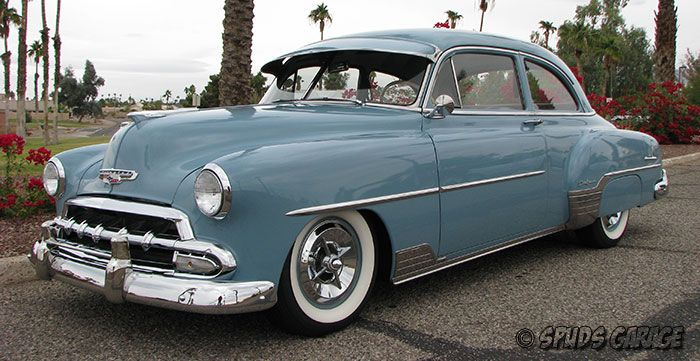 spud 39 s garage 1952 chevy deluxe business coupe for sale cars pinterest business cars. Black Bedroom Furniture Sets. Home Design Ideas