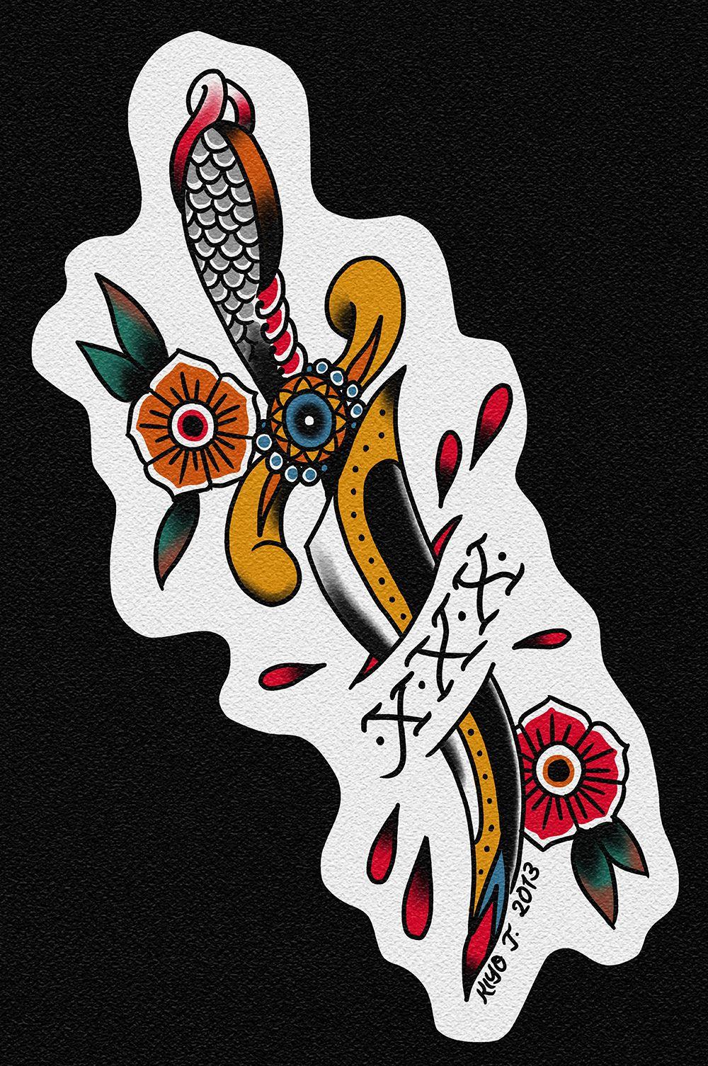 Straight Edge Tattoo Old School Tattoo Designs Traditional Bear Tattoo Snake Tattoo Design