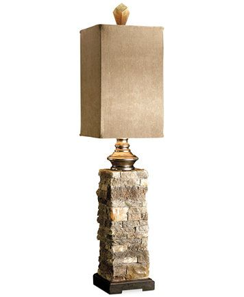 Uttermost Andean Layered Stone Buffet Table Lamp | Macys.com