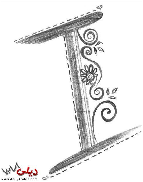 صور حرف I اجمل و احلى صور خلفيات بطاقات رمزيات حرف I بالنار مزخرف فى قلب رومانسية للفيس بوك 2015 Lettering Symbols Letters