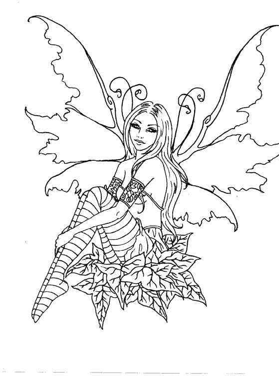 magical fairies coloring pages - photo#23