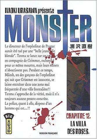 Urasawa, Naoki. Monster, tome 12 : La Villa des roses, Kana, 2004 Cote BD