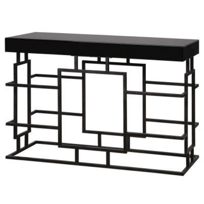 Andy 52 Console Table Black Console Table Iron Console Table Console Table