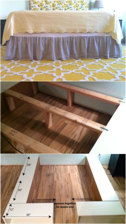 21 Diy Bed Frame Projects Sleep In Style And Comfort Diy Bed