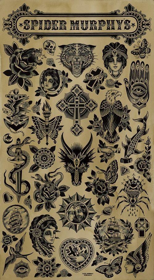 Pin En Traditional Tattoo