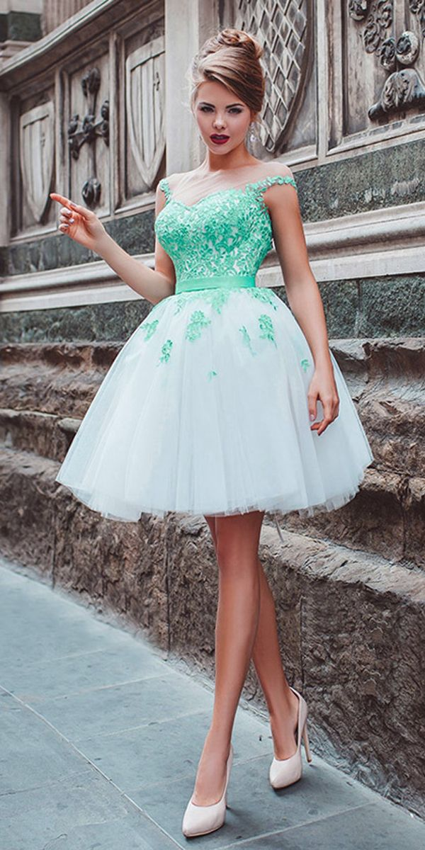Glamorous Tulle Bateau Neckline Short Ball Gown Homecoming Dresses ...