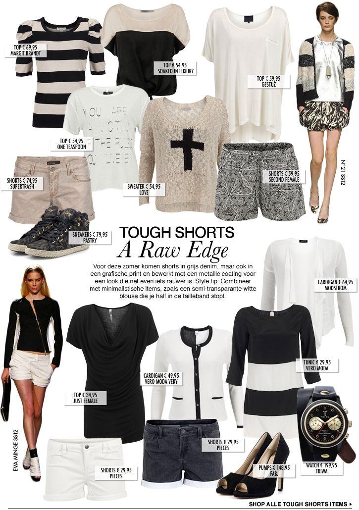 Tough Shorts | A Raw Edge. Via We Love Fashion.