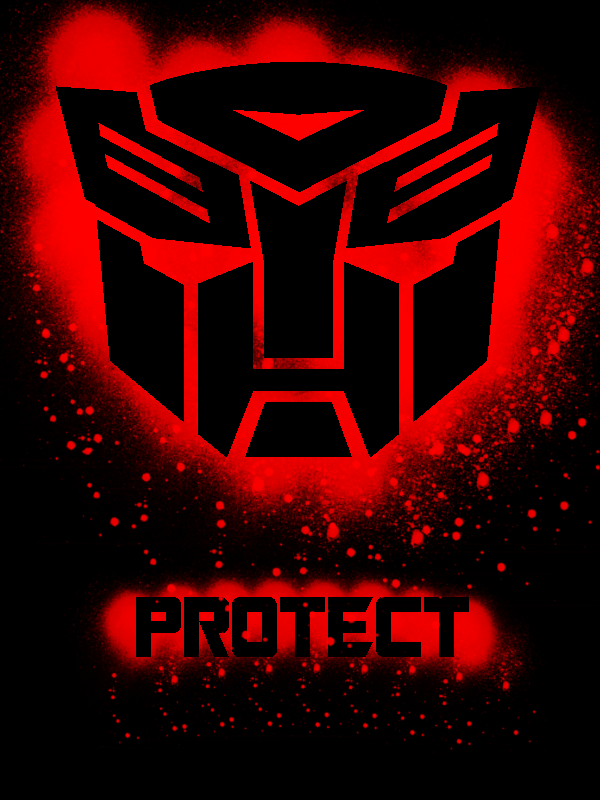 I have a Autobot sticker on my car. I had my window open and someone in their truck next to me hollered 'Autobots, roll out!' and I laughed and had a big grin on my face all the way home.