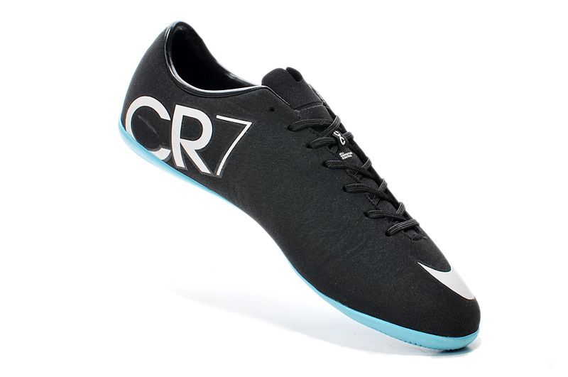 Explore Neymar Football, Football Gear and more! Fine Nike Mercurial Victory  V CR IC Indoor Black White $61.99
