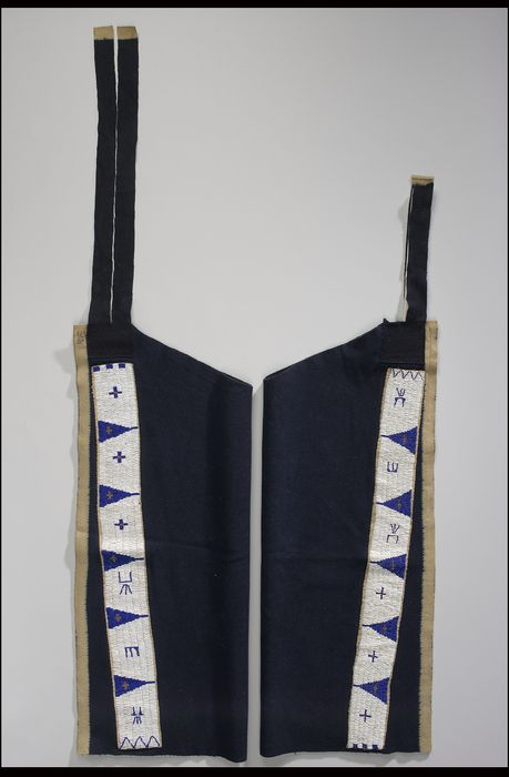 National Museum of the American Indian : Oglala man's leggings, 1908.