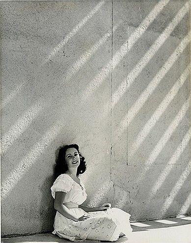 (3) Oversize custom portraits of Elizabeth Taylor by John Engstead.