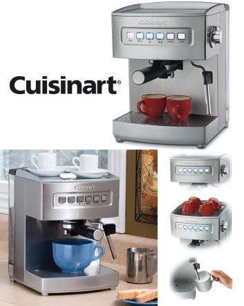 Check Out This Amazing Deal 180 For A Cuisinart Programmable 15 Bar Espresso Maker