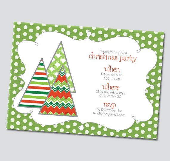 Christmas Invitations Free Printable Ward Christmas Party - free christmas invitations printable template