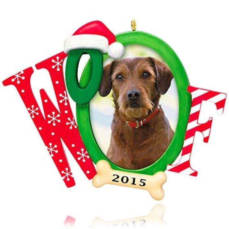 Hallmark Keepsake Ornament Doggone Good Christmas Photo