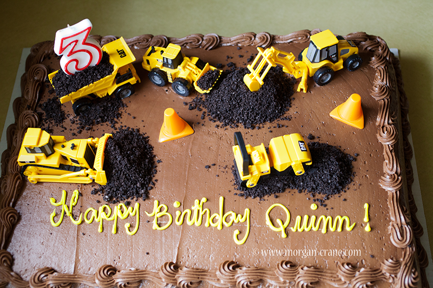 Q's Construction Party!   Construction birthday cake ...