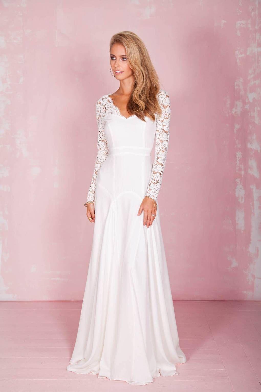 50 Wedding Dresses With Sleeves | Pinterest