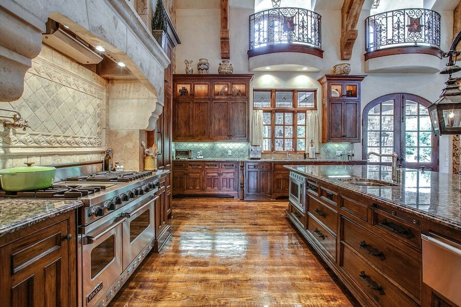 Beautiful Spacious Kitchen Mansion Kitchen Modern Castle Kitchen Design Decor