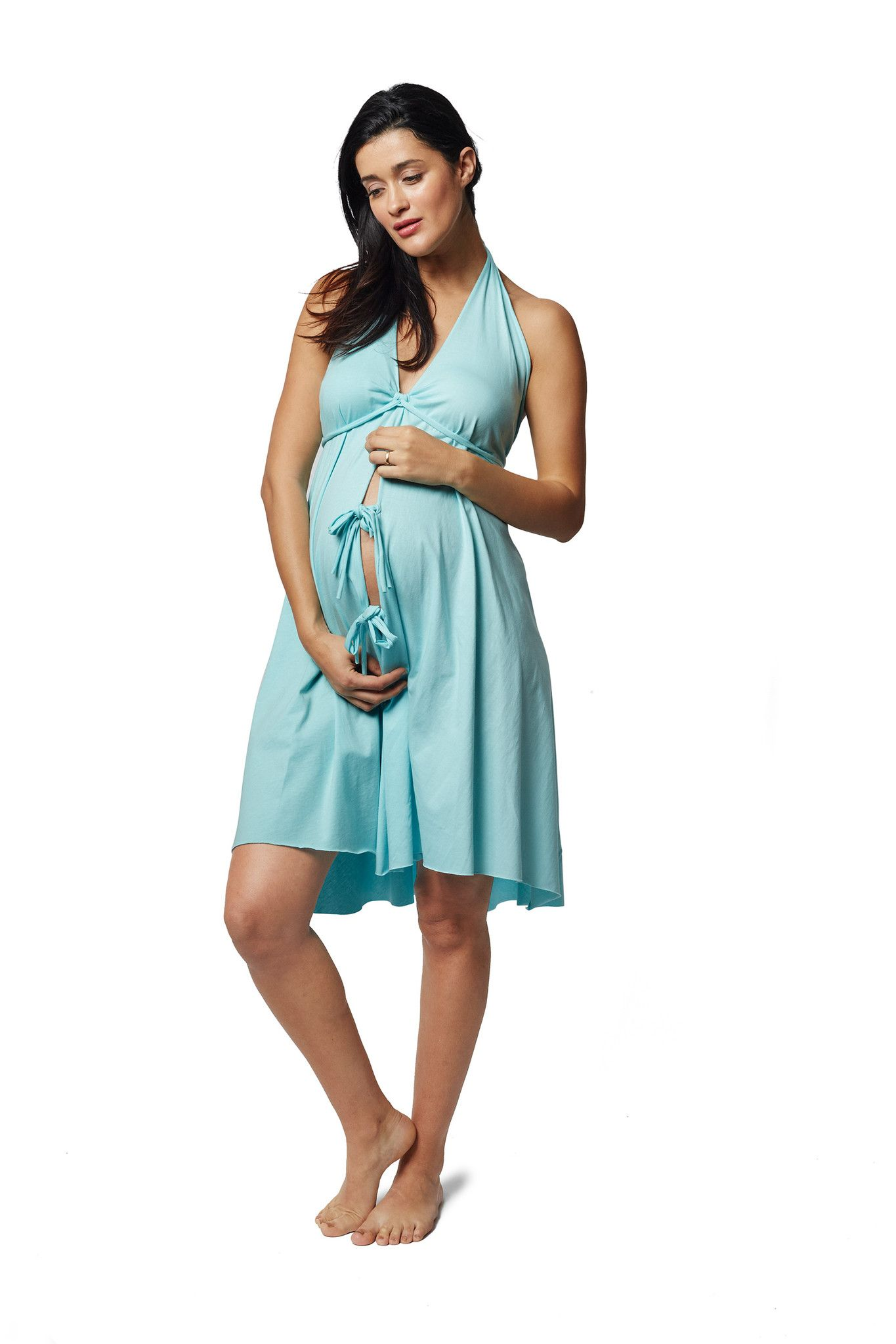 Original Labor & Delivery Gowns | Delivery gown, Labour and Baby ...
